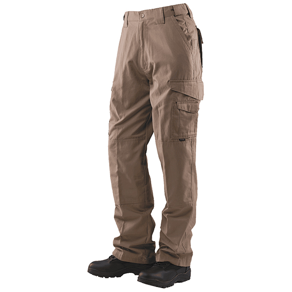 Tru-Spec Pant, 24-7, Tactical, Coyote, P/C Ripstop