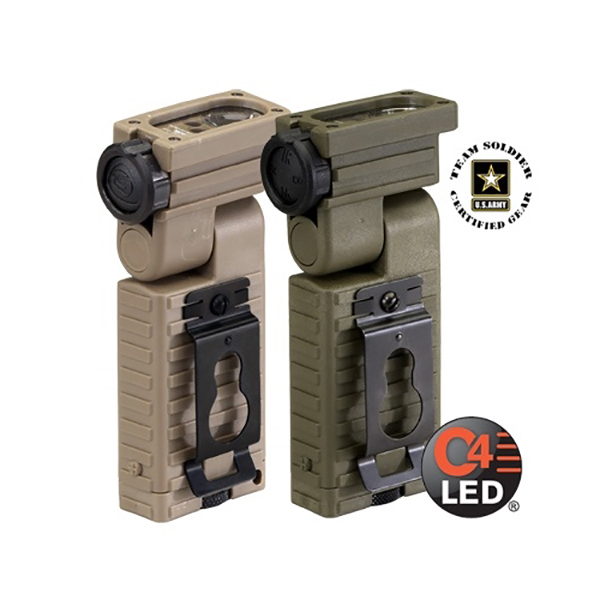Streamlight Sidewinder C4 LED Military Model, AA, Green