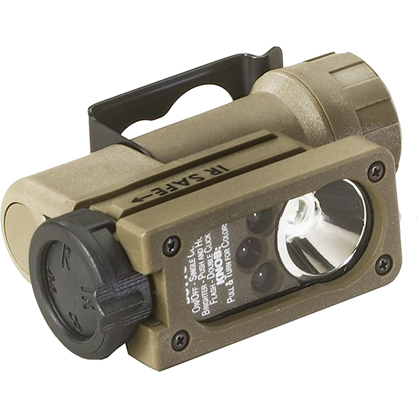 Streamlight Sidewinder Compact II C4 LED, Military Mt, Coyote
