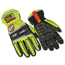 Ringers Glove, Extrication Barrier One, Hi-Viz Yellow