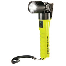 Pelican Light, LED, Right Angle, Rechargeable, Yellow
