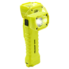 Pelican Light, Right Angle Magnetic Version, Yellow