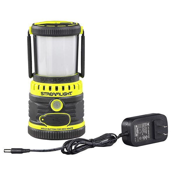 Streamlight Super Siege Rechargeable Latern, Yellow