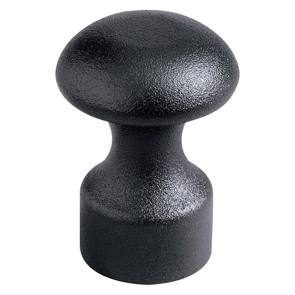 ASP Baton Cap, Black Textured, Expandable Baton