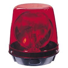 Code 3 Beacon, Fast Rotator Red