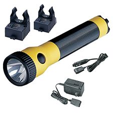 Streamlight Polystinger AC/DC, 2 Holders, Yellow