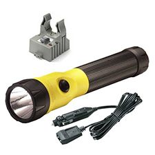 Streamlight Polystinger C4 LED DC Fast Charger, Yellow