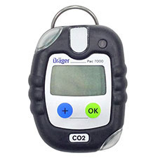 Draeger PAC 7000 Single Gas Detector, CO2