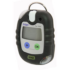Draeger PAC 7000 Single Gas Detector, NH3