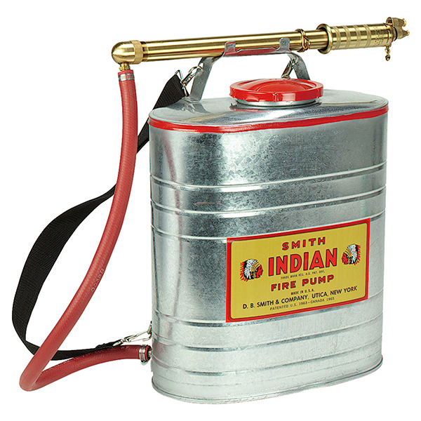 Peco Indian Backpack, 5 Gallon Can Galvanized
