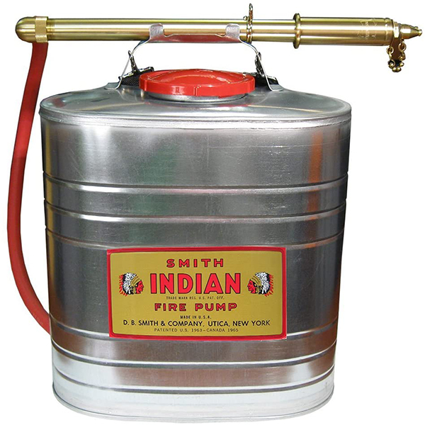 Peco Indian BackPack, 5 Gallon Can Stainless Steel