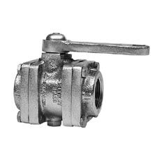 "Elkhart 1.5"" Apparatus Inline Valve, Remote D Handle"