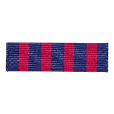 BLUE/RED CLOTH COMMENDATION RIBBON BAR