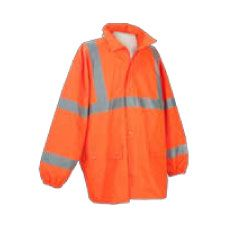 Rain Jacket, ANSI Class 3 Waterproof Orange