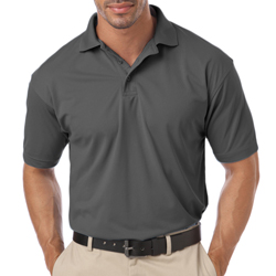Blue Generation Men's Pique SS Wicking Polo