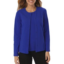 Blue Generation Ladies LS Cardigan