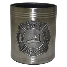 "Great American Can Holder, w/Maltese Cross ""Fire Dept."""