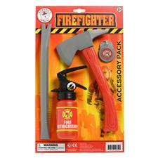 Aeromax Firefighter Accessory Set, 4 Pieces