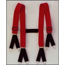 Austin Athletic Suspenders, Red Short H-Back