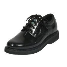 Oxford Shoe, Patriot I, Full Leather, Glossy
