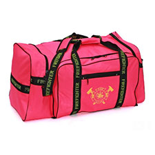 "Firefighter Gear Bag, Hot Pink, 32""L x 17""H x 16""D"
