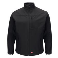Red Kap Jacket, Soft Shell Black
