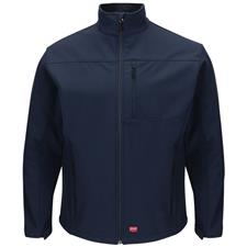 Red Kap Jacket, Soft Shell Navy