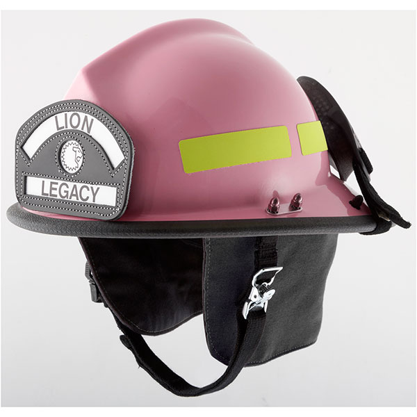 LION Classic Helmet, Pink, Waterguard Faceshield