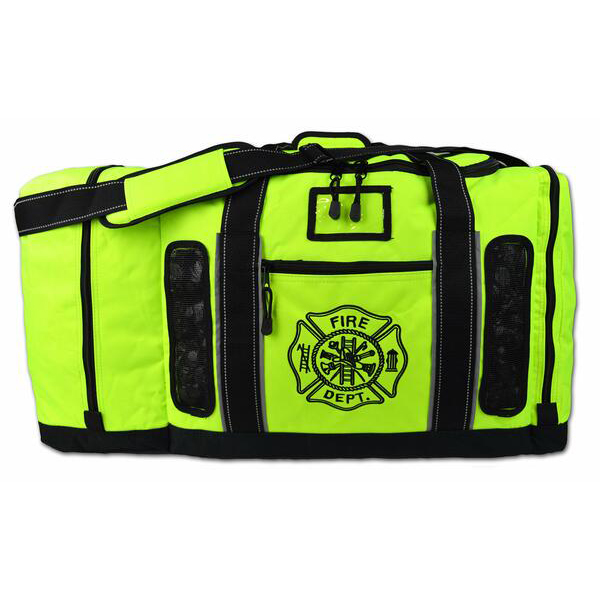 Lightning X Turnout Gear Bag Quad Vent, Fluorescent Yellow