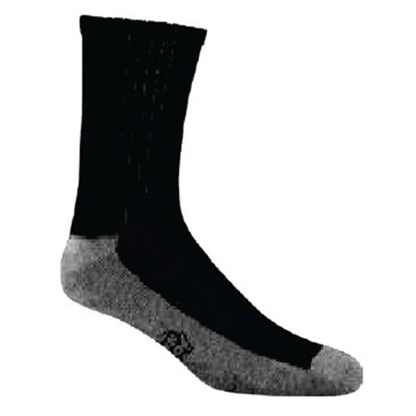 JoxSox Socks, Mens Black Crew
