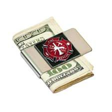 Siskiyou Money Clip, FD Maltese Cross