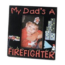 MY DAD'S A FIREFIGHTER FRAME
