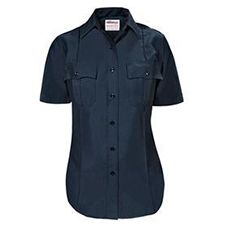 Elbeco Shirt Ladies P/C SS Navy