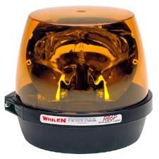 Whelen Light, Amber, Permanent RB6, Rota Beam Beacon