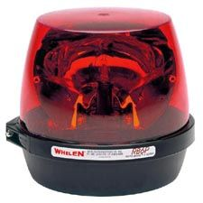 Whelen Light, Red, Permanent RB6, Rota Beam Beacon