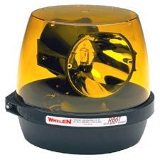 Whelen Light, Amber Permanent Dual,  Rota Beam Beacon