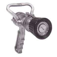 "Elkhart Nozzle, 1.5"" Navy AFFF w/ Pistol Grip, 125GPM"