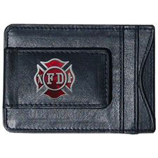 Money Holder, Card Holder Maltese Cross, Leather