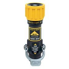 "Elkhart Select-O-Matic Nozzle, 1"" 10-75GPM @ 100PSI"