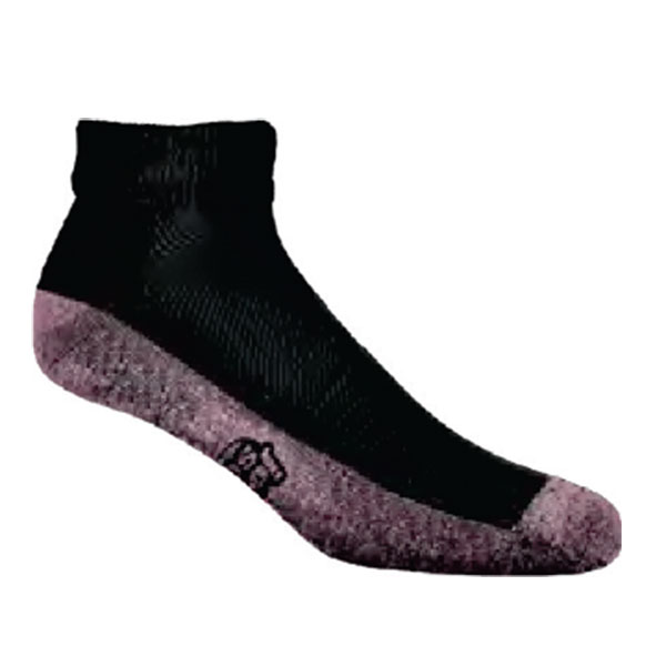 JoxSox Socks, Ladies Black Quarter Crew