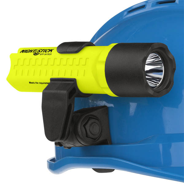Nightstick Intrinsically Safe Flashlight With Helmet Mount