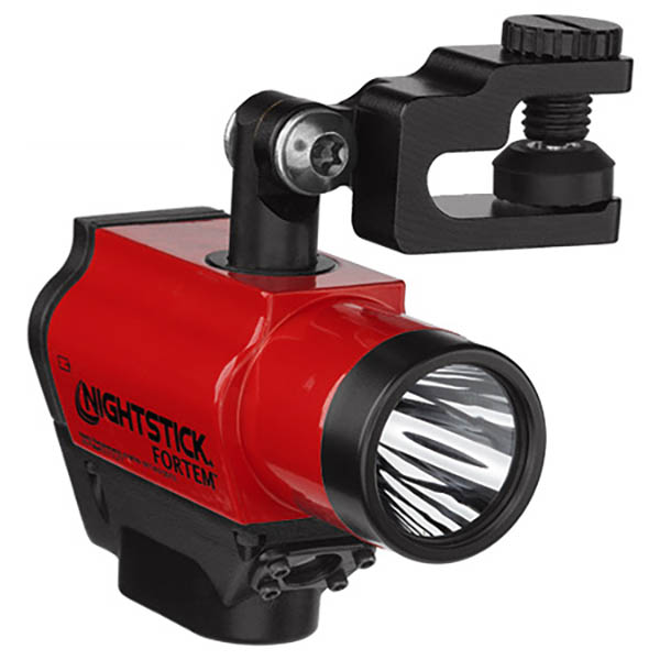 Nightstick Fortem Helmet Mounted Light, Red