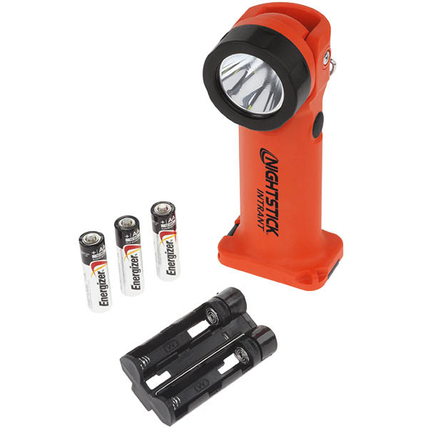 Intrant Intrinsically Safe Dual-Light Angle Flashlight