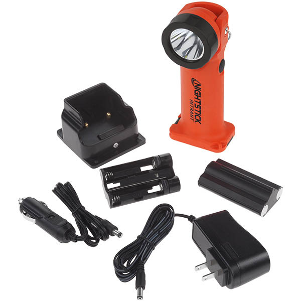Nightstick Intrant Dual Light Rechargeable Angle Flashlight