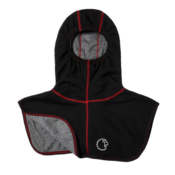 Lion RedZone Particulate Blocking Hood, NFPA, Black