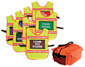 Alert Visions Incident Command Vest Kit (8 Vests w/ Panels)