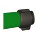 "Key Fire Hose, 1.75"" x 50' Green, DJ, ECO, 800 PSI,1.5""NH"