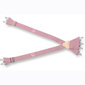 "LION Suspender, Traditional, Pink, 36"" (Short), Metal Loops"