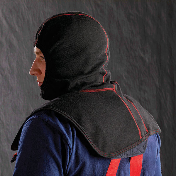 Lion RedZone Fire Hood Back Profile